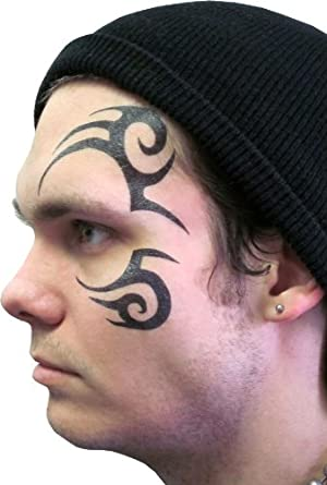 Tribal Face Temporary Tattoo As Seen on Stu in Hangover 2