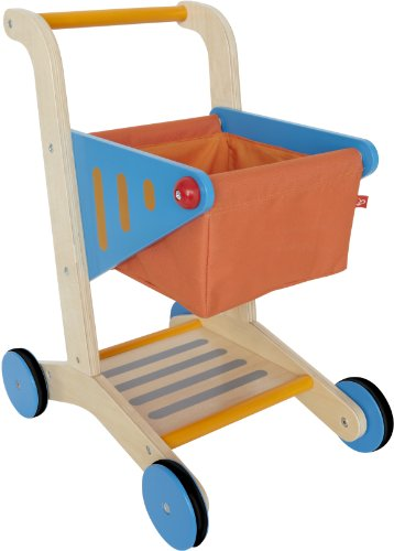 Hape - Playfully Delicious - Wooden Shopping Cart (Ebay Shopping Cart compare prices)