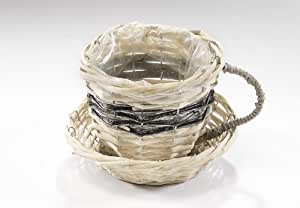 deko tasse zum bepflanzen k che haushalt. Black Bedroom Furniture Sets. Home Design Ideas
