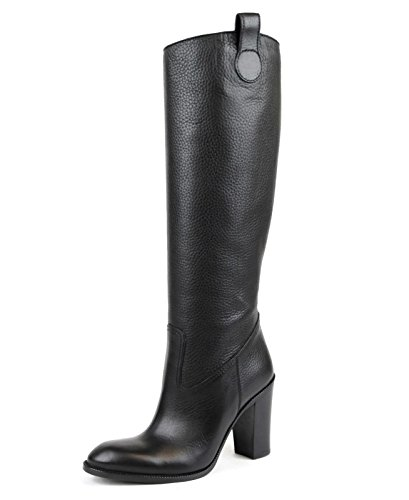 Gucci Womens Leather/ Suede Script Logo Tall Knee Boots 317032