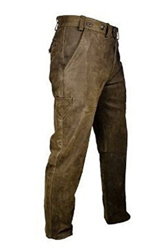 'Hubertus caccia pantaloni Trapper Pelle Taglia 48