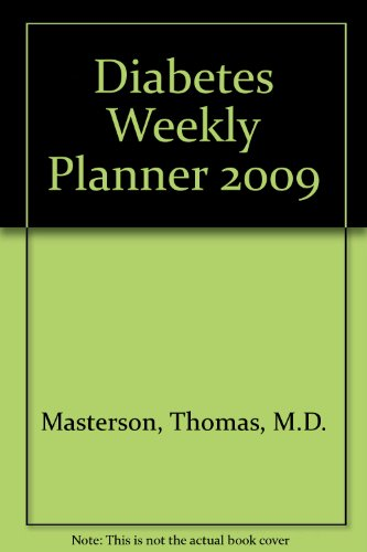 2009 Weekly Diabetes Planner (D N R Weekly compare prices)