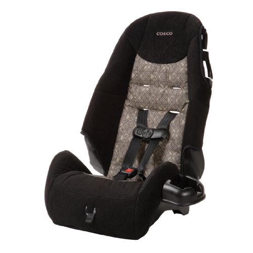 Cosco High Back Booster Car Seat, Canteen