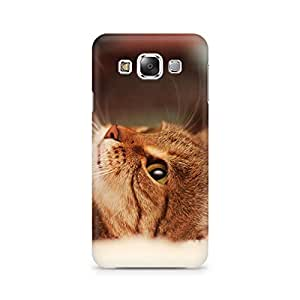 Mobicture Cat Lying Premium Printed Case For Samsung Grand 3 G7200