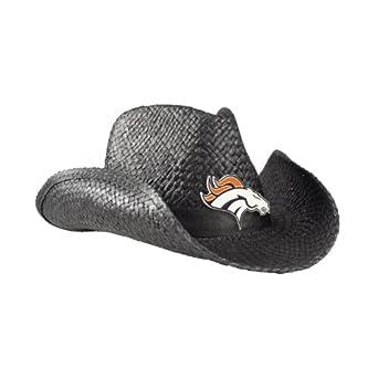 NFL Denver Broncos Ladies Cowboy Hat, Black by Littlearth