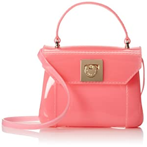 Furla Candy Bon Bon Mini Cross Body,Rose,One Size