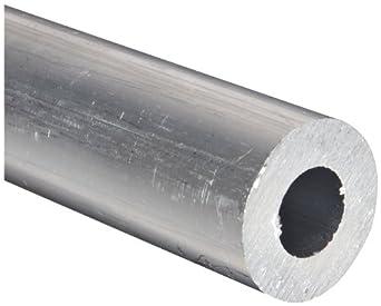 Aluminum 6061-T6 Extruded Round Tubing, ASTM B210
