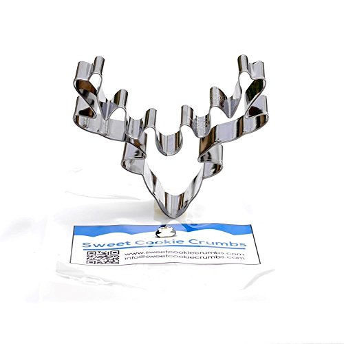 Deer Head Cookie Cutter - Stainless Steel (Deer Cutter compare prices)