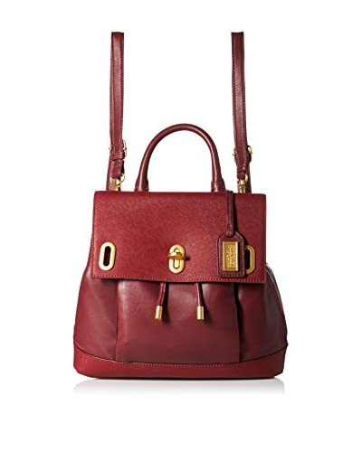 Badgley Mischka Women's Anne Backpack, Burgundy