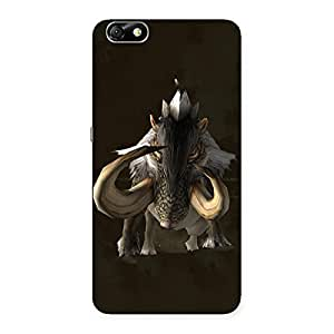 Ajay Enterprises Deadly Creature Back Case Cover for Honor 4X