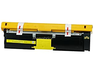 Monoprice 109124 MPI Remanufactured Minolta Q2400Y Laser/Toner, Yellow