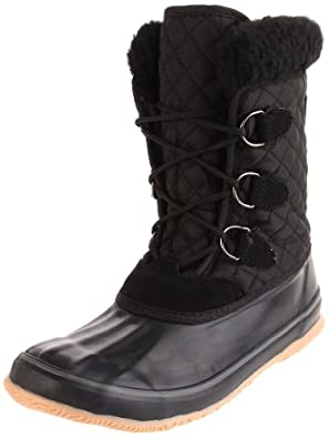 Kamik Women's Snowfling Insulated Boot,Black,6 M US