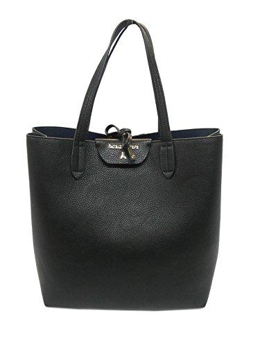 Patrizia Pepe borsa shopping 2V5517 uniform black/dress blue