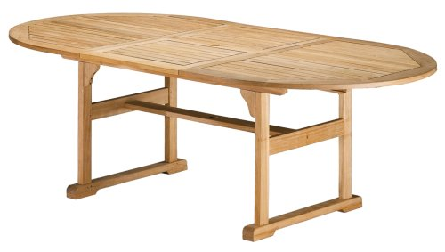Oxford Garden 88-Inch Shorea Butterfly Dining Table