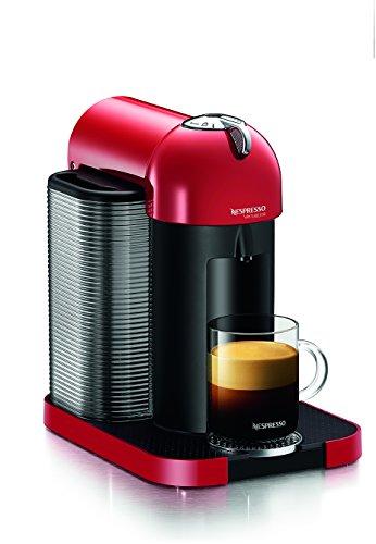 Nespresso Gca1-Us-Re-Ne Vertuoline Coffee And Espresso Maker, Red
