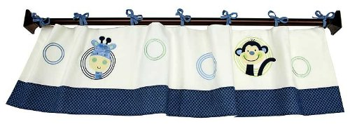 Crown Crafts Animal Park Window Valance by Nojo
