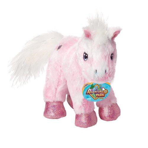 Ganz Lil' Webkinz Plush Adventure Park Series- Lil' Kinz Pink Pony Stuffed Animal - 1