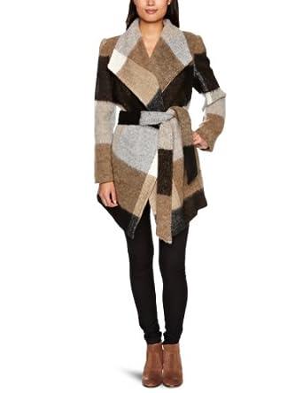 derhy slave veste carreaux femme beige s. Black Bedroom Furniture Sets. Home Design Ideas
