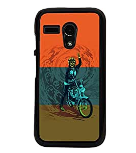 PrintVisa Back Cover for Motorola Moto G X1032 (Multi-coloured)