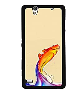 djipex DIGITAL PRINTED BACK COVER FOR SONY XPERIA C4