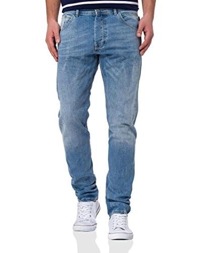 Cross Jeans Vaquero Adam Azul Claro