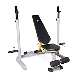 adidas Sport Utility Bench with Squat Rack