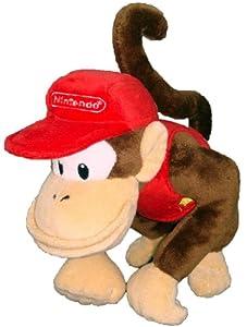 "Super Mario Plush - 6"" Diddy Kong Soft Stuffed Plush Toy Japanese Import"
