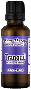 Plant Therapy Essential Oils Tranquil Synergy Essential Oil Blend. 30 ml (1 oz). 100% Pure, Undiluted, Therapeutic Grade. (Blend of: Bergamot, Patchouli, Blo at Sears.com