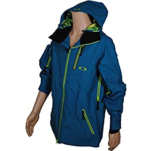 Oakley Great Ascent Men's Ski Jacket blue aurora blue Size:L