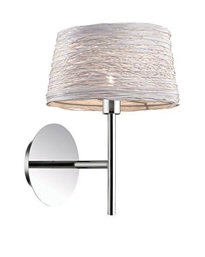 EVERGREEN LIGHTS Lámpara De Pared Basket AP1 Blanco