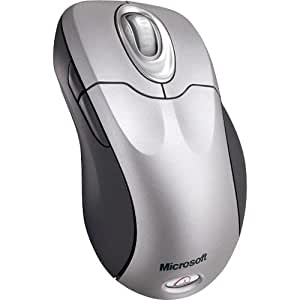 Microsoft M03-00090 Wireless Optical Mouse 5000 High Definition with Tilt Wheel Platinum Mac/Win PS2/USB English