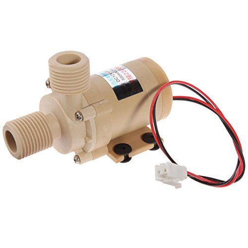 Mini DC 12V Electric Centrifugal Water Pump Low Noise. (Electric Oil Pump 12v compare prices)