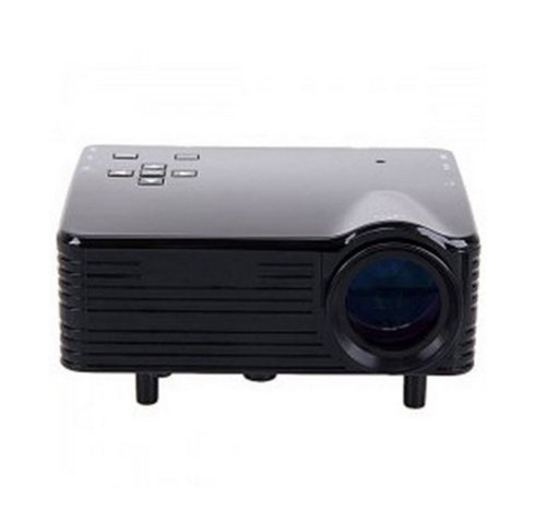 Personal Micro Multimedia Lcd Projector Mini Projector 80Lms 640 X 320 Pixels Support 1920*1080 With Av/Usb/Vga/Hdmi/Sd Card Slot Input