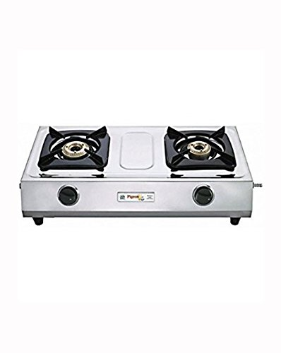 Pigeon Galaxy Stainless Steel LPG Gas Cooktop (2 Burner)