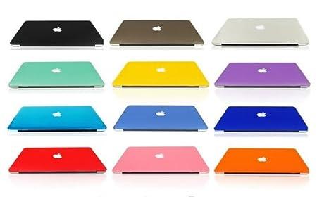 MacBook Pro Retina ディスプレイ 13.3インチ用 マット ハードケース 《全12色》 ブラック(黒)