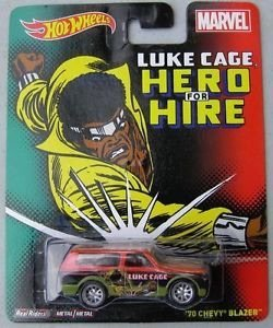 Hot Wheels Marvel Luke Cage '70 Chevy Blazer - 1