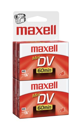 Best Prices! Maxell 298022 60 Minute Digital Mini Video Camcorder Tape - 4 Pack