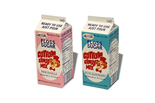Benchmark Cotton Candy Flossugar Pink Vanilla 3.25 Lb