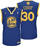 Stephen Curry Golden State Warriors Blue NBA Toddler Revolution 30 Replica Jersey