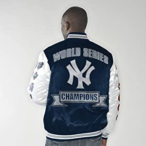 New York Yankees Up the Gut World Series Champs Commemorative Satin Jacket by G-III Sports
