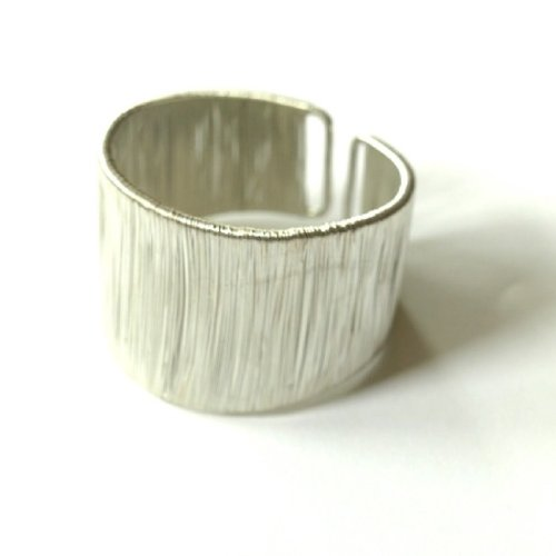 Wire Silver Cuff Bracelet
