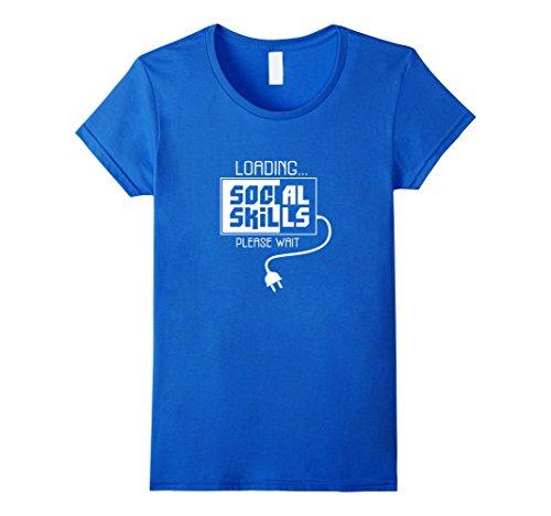 Social Skills Loading Introvert T-Shirt