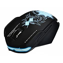 DragonWar Chaos ELE-G7 Bluetrack Gaming Mouse with Marco Function
