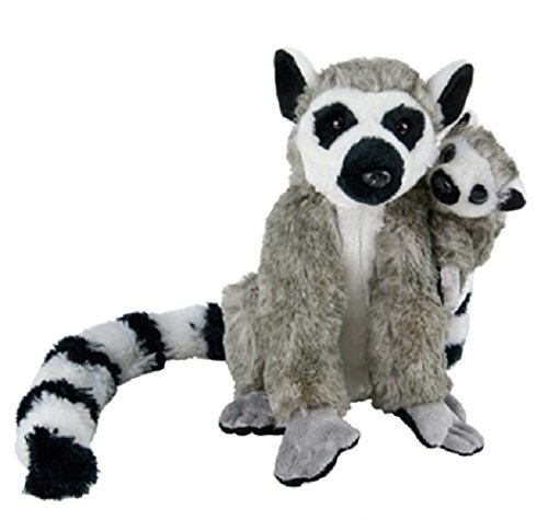 Birth of LIfe Ring Tail Lemur and Baby Plush Toy 10