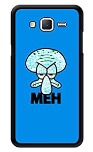 "Humor Gang Meh Face Printed Designer Mobile Back Cover For ""Samsung Galaxy Grand 2"" (3D, Glossy, Premium Quality Snap On Case)"