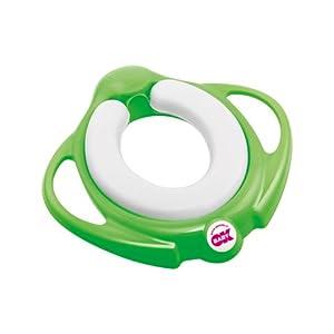 Asiento reductor para WC Okbaby Pinguo Soft 44 Verde Flash [cod.825] de Okbaby - BebeHogar.com