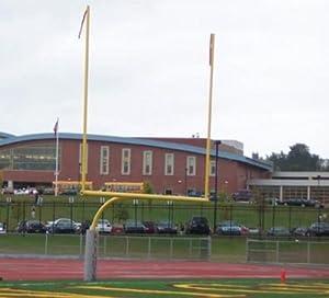 Football Goal Posts, HS 8' Offset, 30' Uprights (pair)