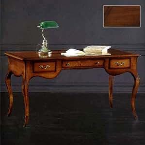klassisch nussbaum schreibtisch b rostuhl chefsessel. Black Bedroom Furniture Sets. Home Design Ideas