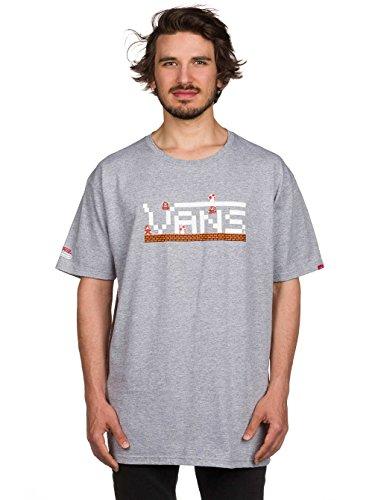 Vans Uomo Tshirt Vans Nintendo Mario Taglia 2 Grigio