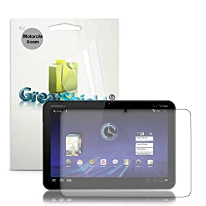 GreatShield Ultra Anti-Glare Matte Clear Screen Protector Film for Motorola XOOM Tablet 3 Pack at Electronic-Readers.com
